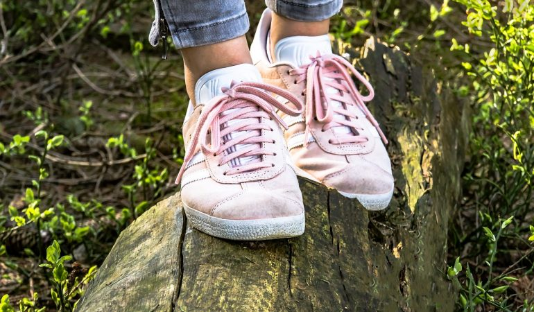 How to Make Sneakers Look Chic