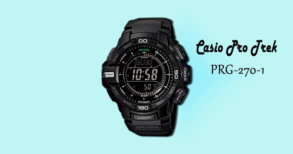 Casio Pro Trek PRG-270-1