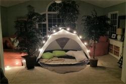 Indoor Camping Activity