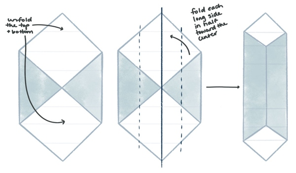Turn Your Paper Square Into a Rectangle