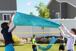 Water Balloon Volleyball Games