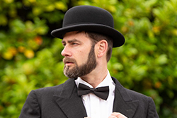 Bowler Hat for formal suiting