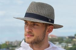Man Wears a Fedora Hat