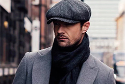 Flat Cap Winter Outfit