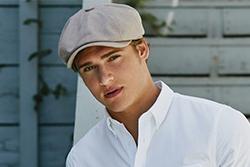 Boy with Newsboy Cap