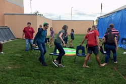 Wet Musical Chairs