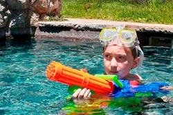 Water Gun Freeze Tag