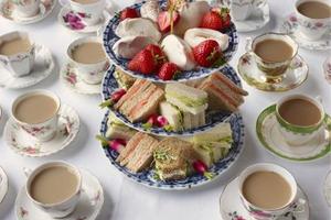 A Tea Time Party for Raising Money