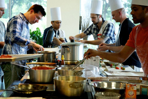 Cooking Competition for Raise Money