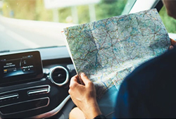 Guide Book and Paper Maps