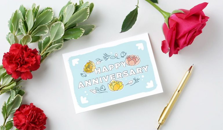 How to Save the Day with a Last Minute Anniversary Gift