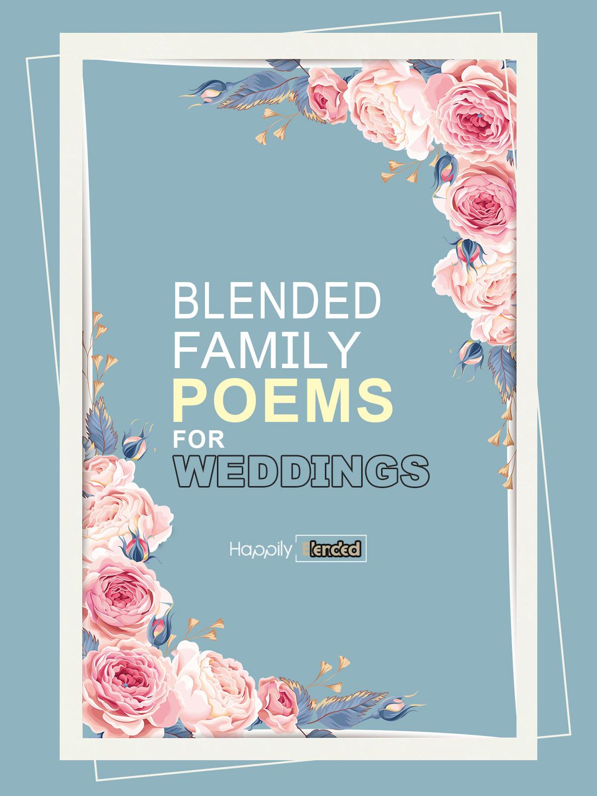 Blended Family Wedding Poems