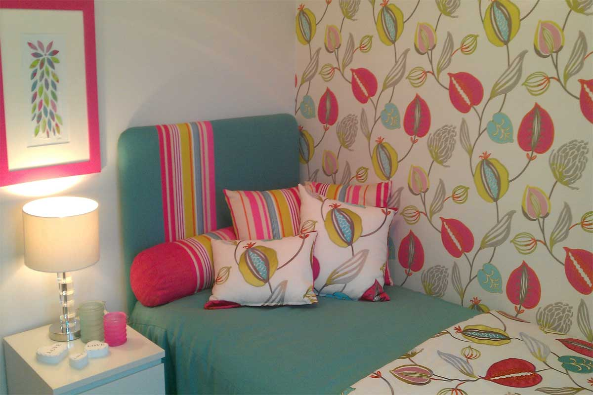 See how easy it is to give your home an update with peel and stick wallpapers